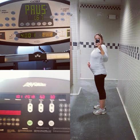 31 weeks gym